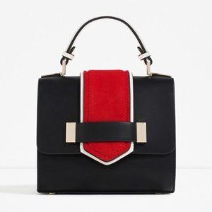 Black White Red Cross Body Bag
